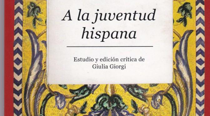 A la juventud hispana
